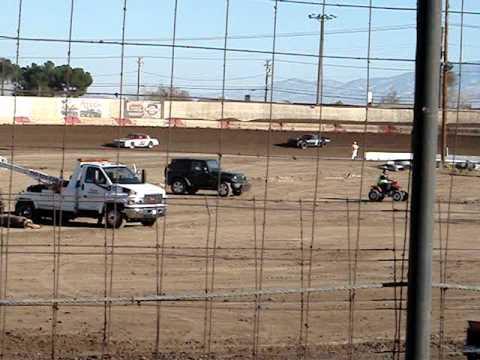 hot laps street stock victorville auto raceway 11-26-11
