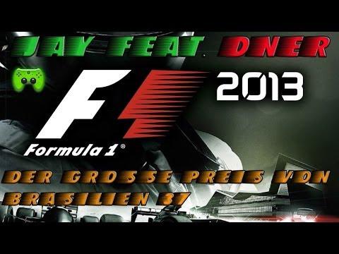 F1 2013 # 37 - Großer Preis von Brasilien 1/2 «»  Let's Play F1 2013 | Facecam