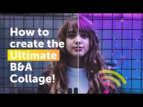 How to create the Ultimate Before and After Collage! | PicsArt Tutorial