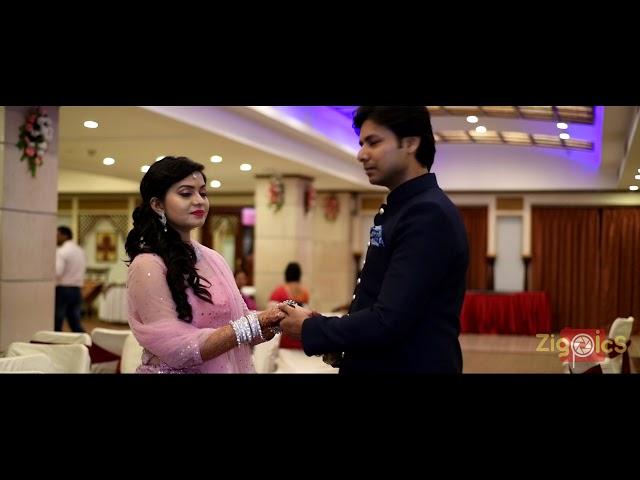 Soni & Geet Bhushan | Engagement Teaser | ZigPics - India