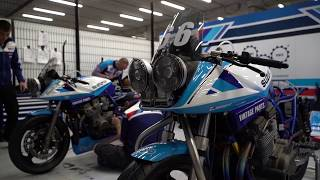 Team Classic Suzuki at Spa Trailer