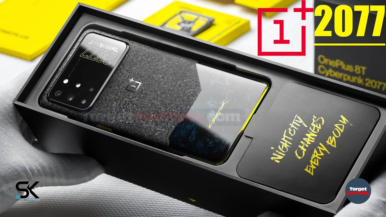 Download OnePlus 8T CyberPunk 2077 Edition Introduction - Design, Features, Price, Release Date 2020