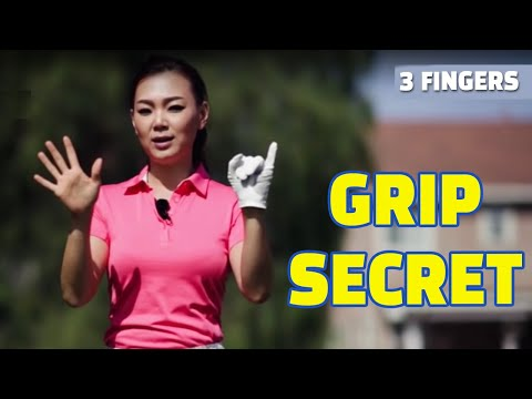 [Golf with Aimee] Aimee's Golf Lesson 003- A Secret to Perfect Grip