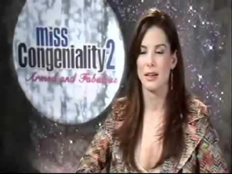 Sandra Bullock - Interview with Jonathan Ross - Miss Congeniality 2