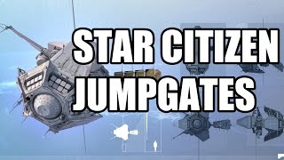 Star Citizen MobiGlas, Jumpgate, ArcCorp Footage PAX South