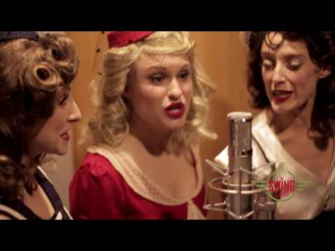 "The Swing Dolls sing ""Don't Sit Under The Apple Tree"" by The Andrews Sisters"