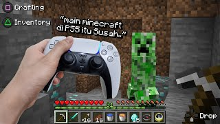 Jadi Aku Cobain Main Minecraft di PS5 ..