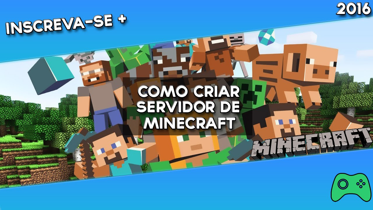 Tutorial - Como Criar um Servidor de Minecraft {1.7.X e 1 ...