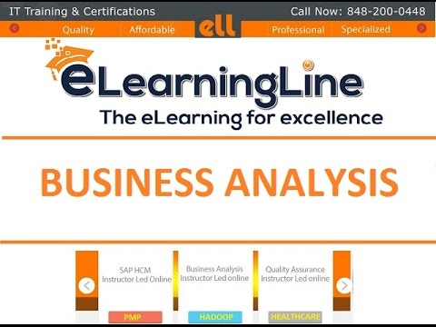 Business Analysis Training Free  Case Study By ElearninglineCom