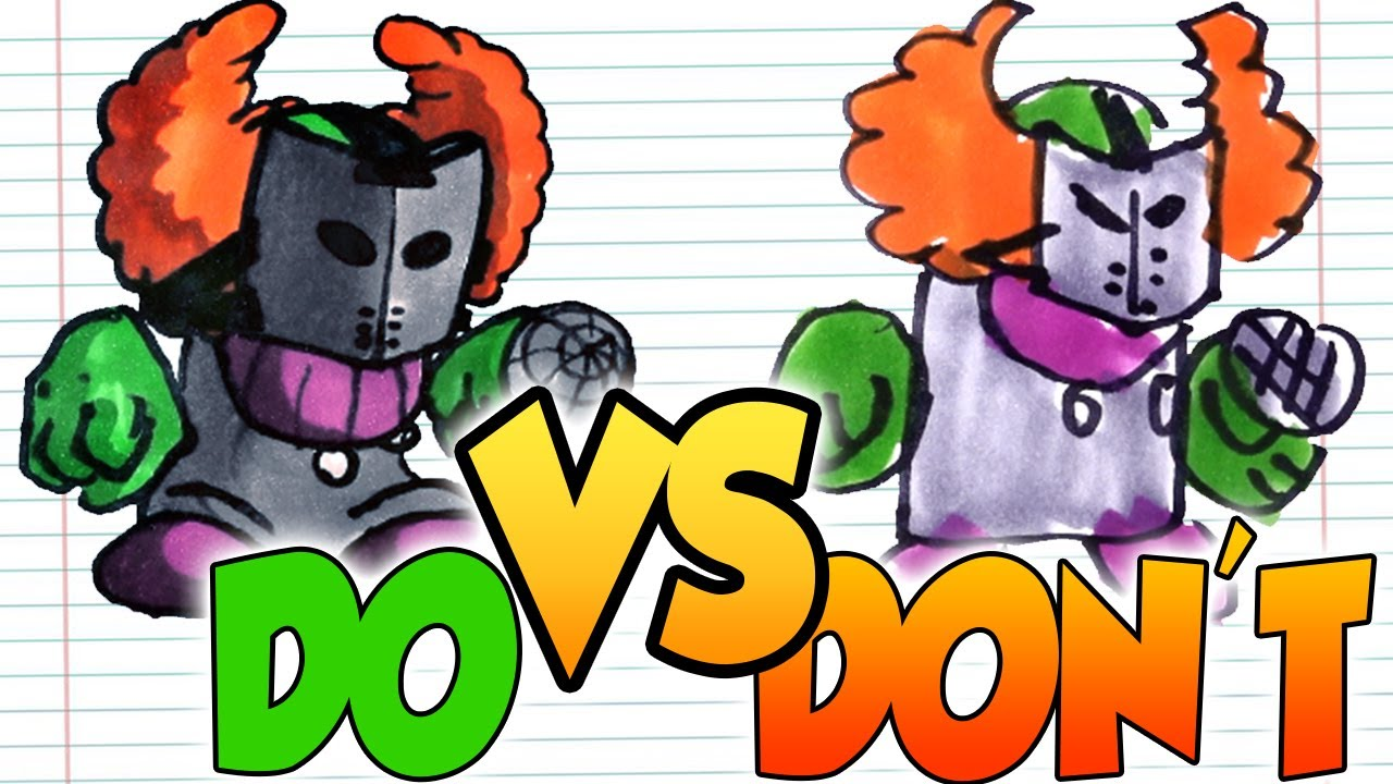 DOs & DON'Ts Drawing TRICKY, WHITTY, GF, BF(Friday Night Funkin) In 1 Minute CHALLENGE!