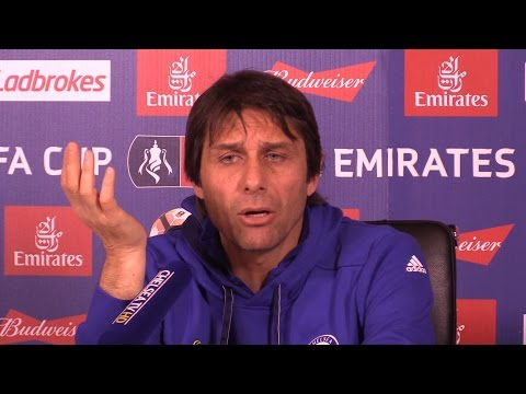 Antonio Conte Full Pre-Match Press Conference - Chelsea v Brentford - FA Cup