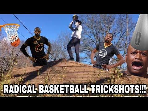 RADICAL BASKETBALL TRICKSHOTS!!!! (Gone NBA) Epic Vlogs #12