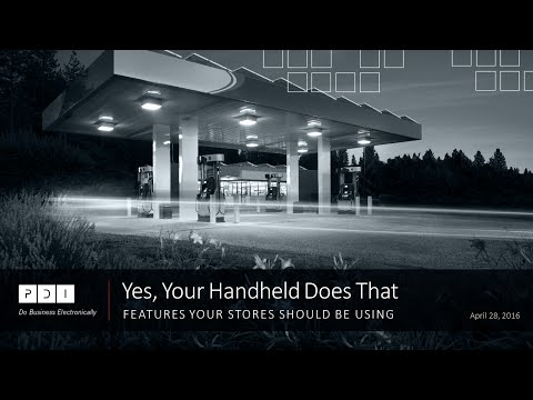 Webinar: Yes, Your Handheld Does That