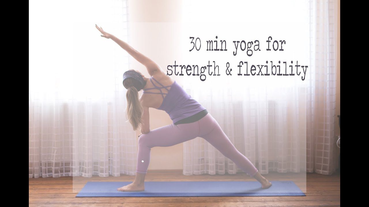 30 Min Yoga for  Flexibility Created by Yoga by Candace
