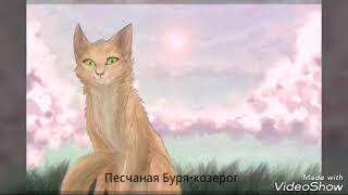 Мой гороскоп котов воителей ( для девочек) из Грозового племени