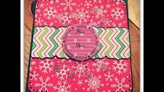 Scrapbook Giftholder Card---geschenkkarte---tutorial