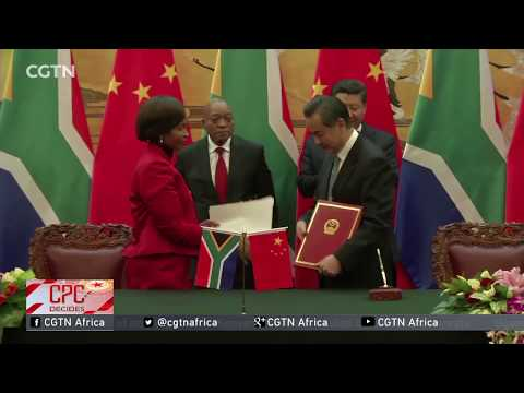 China-South Africa ties boosted by people to people exchanges