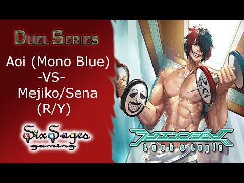 Six Sages Gaming Duel Series - Aoi VS Mejiko/Sena (Luck and Logic TCG)