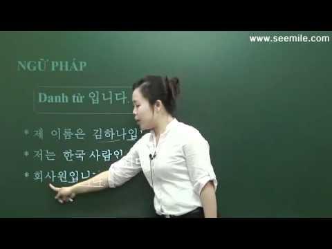 Hoc Tieng Han - Nhap Mon - Bai 04 (Giới thiệu bản thân)