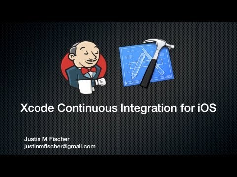 Xcode Continuous Integration for iOS Tutorial - (Jenkins, CI, TDD, SVN, OCUnit, TestFlight)