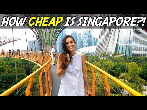 How expensive is Singapore?! (The World's Most Expensive Country!)