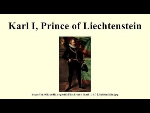 Karl I, Prince of Liechtenstein