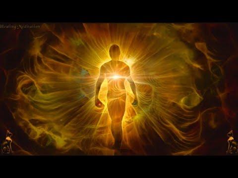 555Hz 50Hz 5Hz Golden Aura Healing Meditation Music. Positive Change. Return To Pure Soul.