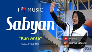 Gambar cover Sabyan - Kun Anta - Konser Kudus (Official ILoveMusic) Full HD