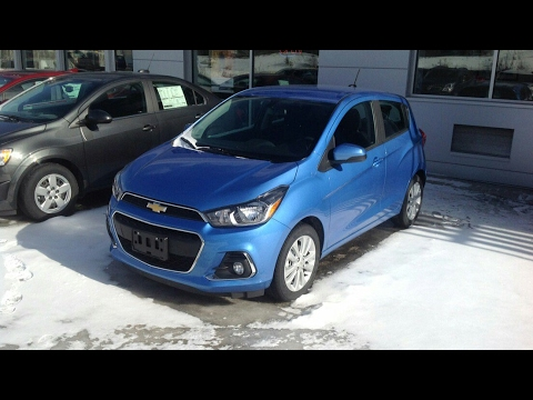 2017 Chevrolet Spark LT Start Up, Full Tour and Review