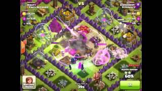 1.1 Million Raid Against a Base I Designed - Clash of Clans