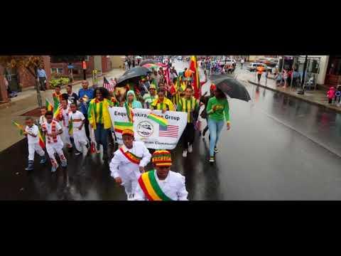 Enqu Dankira Dance Group Revere columbus day parade 2017