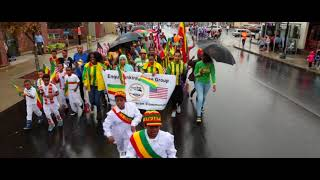 Enqu Dankira Dance Group Revere columbus day parade 2017