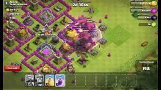 Clash Of Clans 2 Seviye Ejder Saldırısı