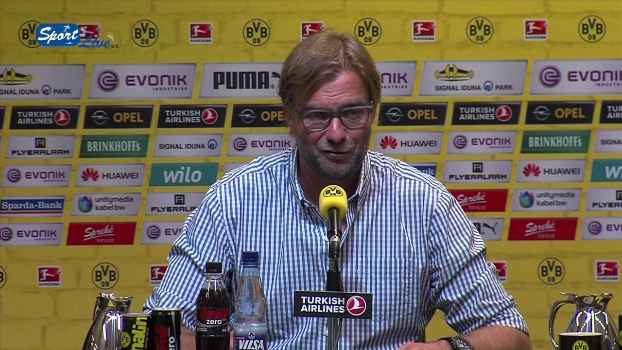 BVB Pressekonferenz vom 27. August 2014 vor dem Spiel FC Augsburg gegen Borussia Dortmund