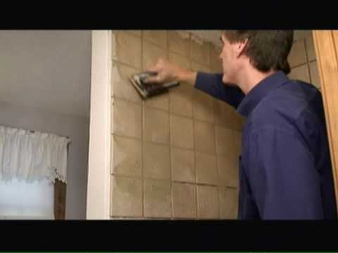 How to Grout Tile in a Custom Tiled Shower Video - YouTube