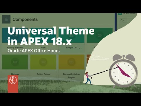 Universal Theme And Mobile Apps In APEX 18.x