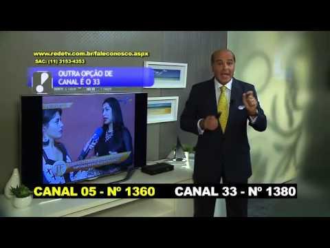 Aprenda a sintonizar a RedeTV em parabólicas no aparelho Elsys