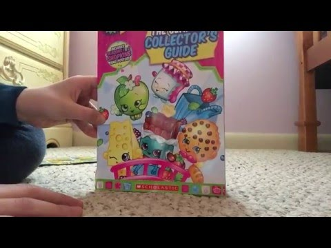 The Shopkins Ultimate Collectors guide and poster
