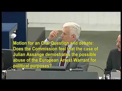 Motion to discuss possible abuse of European Arrest Warrant in Assange case