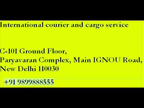 international courier in delhi