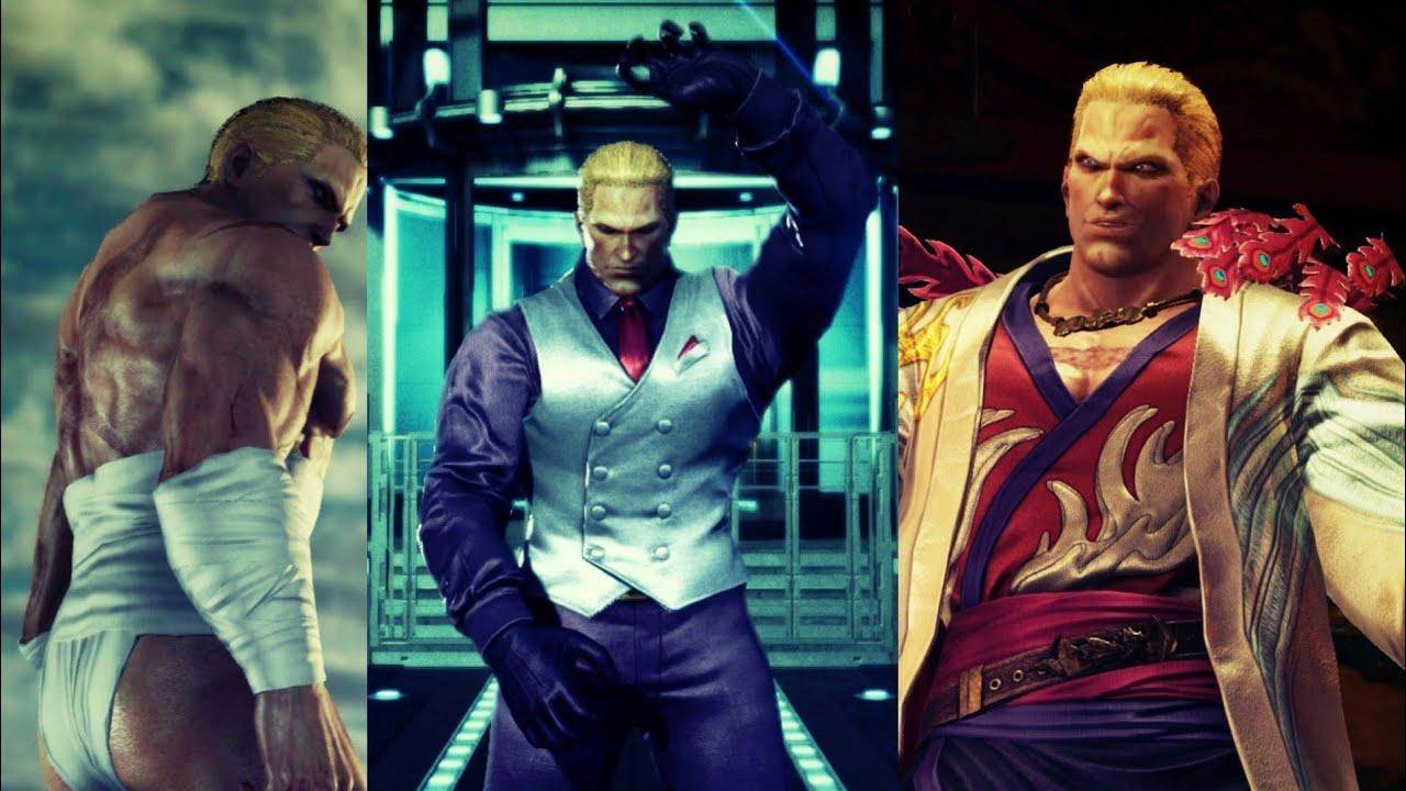 Tekken 7 Geese Howard Unlockable Costumes Showcase Youtube