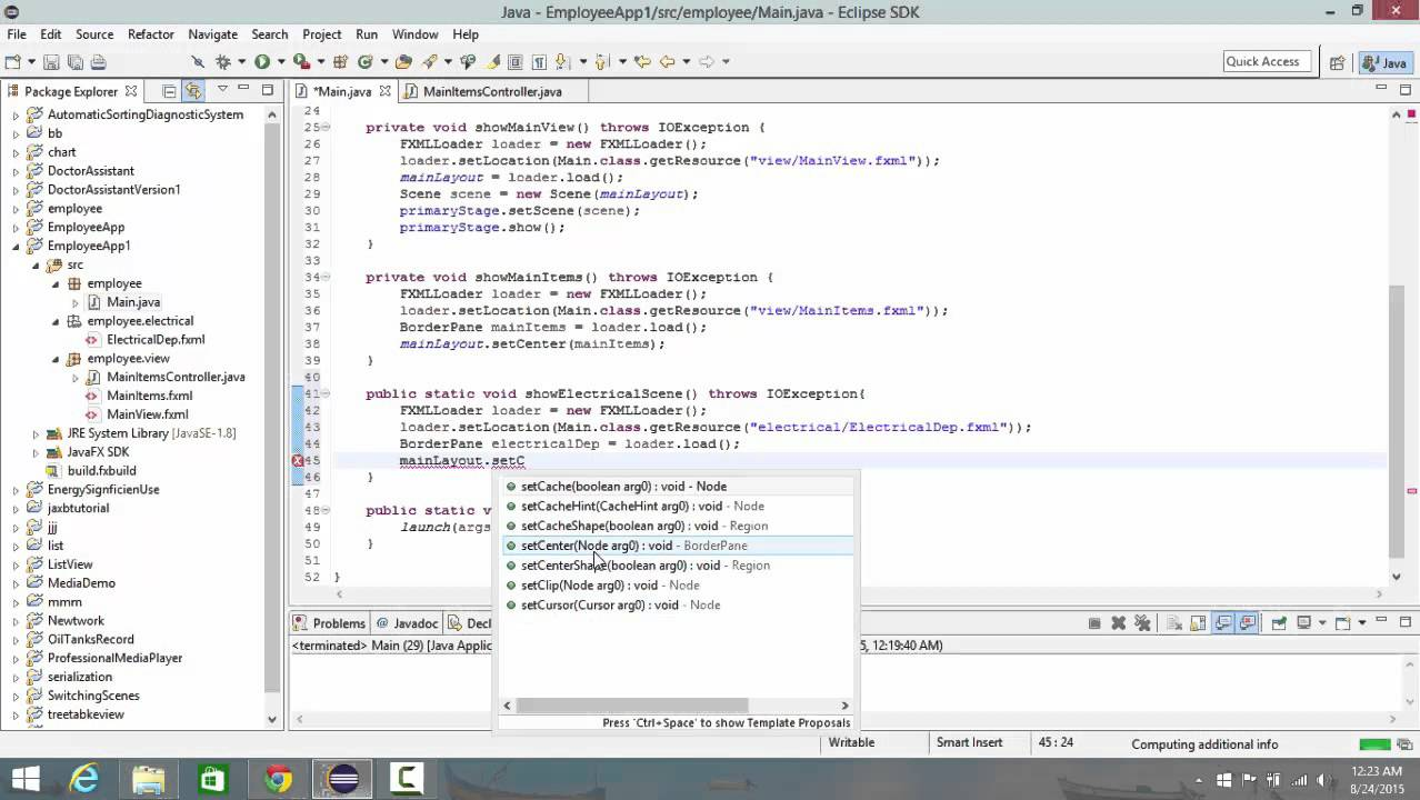 Javafx with scene builder lecture 3 switching between screens javafx with scene builder lecture 3 switching between screens tap pane split pane table view software development tutorials baditri Images