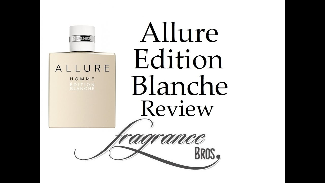 cb27a19f7e0 Chanel Allure Homme Edition Blanche Review! Safe WIN! - YouTube