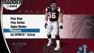 Madden NFL 2004 PC -  Control scheme on the keyboard