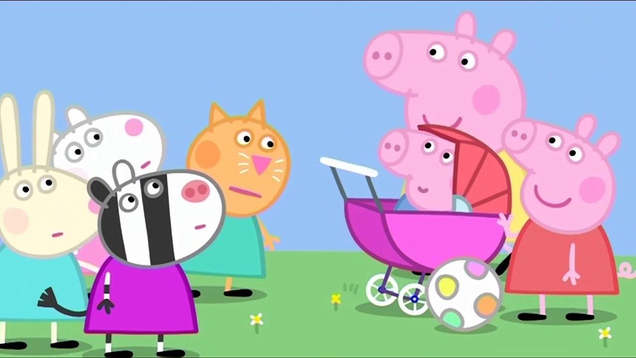 Prasátko Peppa S02E31 MIMINKO (The Baby Piggy) CZ 4K ULTRA HD