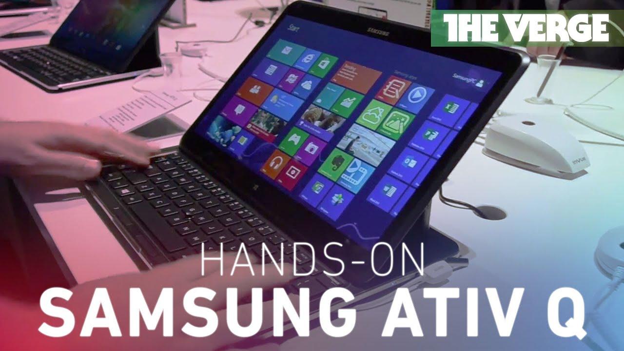 Samsung Ativ Q hands-on
