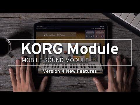 KORG Module Pro / KORG Module v4: New Features