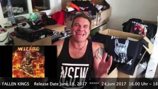 Album Trailer #2: WIZARD - Fallen Kings
