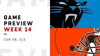 Carolina Panthers vs. Cleveland Browns | Week 14 Game Preview | NFL Film Review