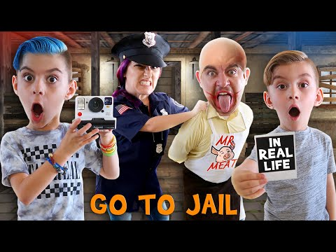 We Called The Police On Mr Meat In Real Life (FUNhouse Family) IRL Horror Game